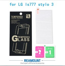 9H Hardness Tempered Glass Film Anti-Scratch Shatterproof Explosion-proof Protector for lg stylo 3 Film with Packaging