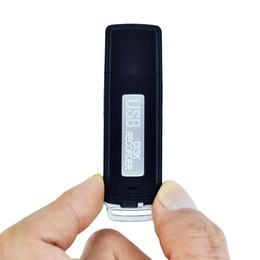 8gb tactile à vendre-Vente en gros-Savetek 2016 MINI USB PEN 8 Go enregistreur vocal audio numérique 384KBPS One-Touch enregistrement 70 heures d'enregistrement noir