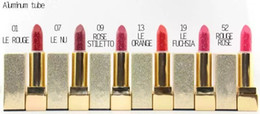 Wholesale hot selling brand makeup rouge pur couture the mats lipstick g have colors