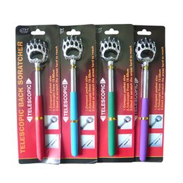 Wholesale Special stainless steel massage scratching Telescopic bear s paw do not ask for Itch scratched Ten yuan promotional gifts
