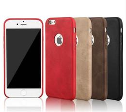 Descuento teléfonos celulares casos de cuero Holster Pouch Leather PU for iphone 5 6 6s 7 7 Cell Phone Cases Covers Slim Retro Smartphone Android Noticias