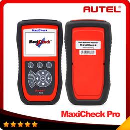 Wholesale 2016 New designed Original Special Application Diagnostics Autel MaxiCheck Pro EPB ABS SRS Climate Control SAS TPMS Function DHL free