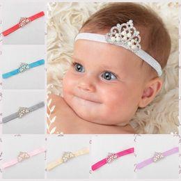 Baby Crown Headband, Ready To Ship Baby Tiara Headband, Rhinestone Tiara for Babies, Princess Headband for Baby Girls, Crystal Pearl Crown
