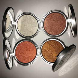 Wholesale 5 color kylie jenner Highlighter Makeup Illuminators Facial Highlighter Skin Illuminator Complexion Contour foundation make up Powder
