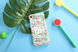 Fashion Cartoon Camellia Flower Case For iphone 6 Case For iphone 6S 7 7 PLus Cover Luxury Retro Floral Phone Cases Hard Coque