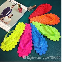 summer slippers flip flops shoes women sandals eva open toe cute candy colour