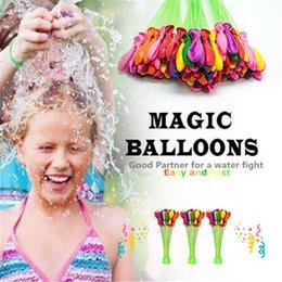 Juegos para niños en venta-Juguete de globo lleno de agua Montón de globos Asombroso niño mágico bombas de globo de agua Juguetes llenado Ballons de agua Juegos Decoración de niños