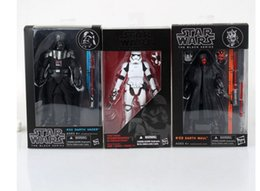 Canada Les nouvelles figures d'action Star Wars jouent la Force Awakens The Black Series Storm Trooper Boba Fett 12 Style 16cm Toy PVC Figure Model Gift Offre