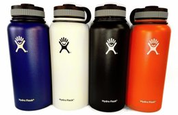 Wholesale Hydro Flask oz oz Thermos Insulated Water Bottle Stainless Steel Coffee Cup w Lid