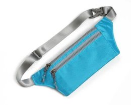 Sport Running Waist Belt pouch Reflective stripe Bag Gym Arm band Pack iphone 6 6plus inch Hanging Elastic Adjustable Waistband