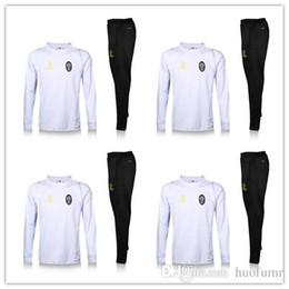Wholesale 3 Colors Full Zipper Juventuss Suit Soccer Jacket Tracksuit Football New Men Adults Juve chandal giacca tuta survetement