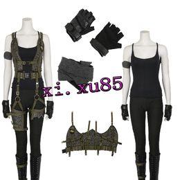 Wholesale New Arrival Women s Costume Resident Evil The Final Chapter Alice Costume Halloween Costume For Women Custom Made