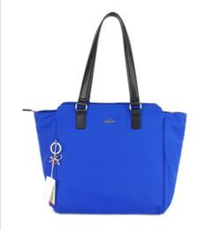 2017 New Nylon shoulder bag messager bag women bag K12445 blue