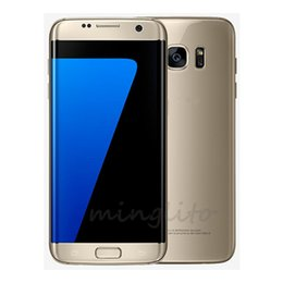 Wholesale Goophone S7 Edge Version s7 Clone Phone Rear Camera MP s7 Cell Phones Metal Frame GB RAM GB ROM Quad Core