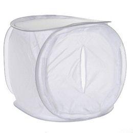 60 * 60cm Photo Studio Softbox Tente de tournage Boîte Softbox photo lumière tente + sac portable + 4 Toile de contact couleur lentilles de couleur à partir de photo boîte de tente fabricateur