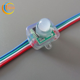 12mm square led pixel light Full Color RGB LED Pixel module Light With IC WS2801 6803 9813 DMX512 For Advertisement DC 5V DC12V