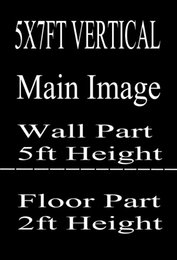 Wholesale Custom X7FT VERTICAL X5FT HORIZONTAL Photography Studio Background Backdrop For Camera Photos Make Notes Within Model ID Number
