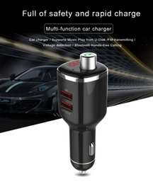 Bluetooth FM Transmitter BC23 LCD Car Kit MP3 U Disk USB Charger Handsfree for iPhone 5S 6 7 Mp3 Player Wireless FM Transmitter