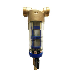 Wholesale PHEPUS New Style Brass Pre Filter For Home Domestic Stainless Steel Screen Net Sediment Sand Terminal Purification System With ABS housing