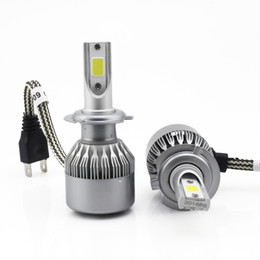 Wholesale latest LED car headlamp bulbH4 H3 H1 H8 H9 H11 HB3 HB4 Automobiles Headlamps Super brightness W set led headlight h7 Fog Lamp bulb