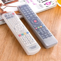 2017 silicone covers for remote controls Vente en gros - 19 * 5.5 * 1.5cm TV télécommande imperméable à l'eau en silicone peau couverture protectrice en gros peu coûteux silicone covers for remote controls