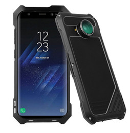 Camera Phone Case For Sumsung S8 S8 Plus Ultra-Slim and Light Aluminum Alloy Life Waterproof phone Shell