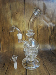 new glass recycler glass bongs Faberge Egg Water Pipes Oil Rigs with Best Quality thick glass bong bubbler