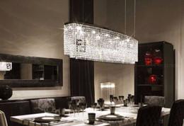 2017 pendeloques de cristal Moderne K9 cristal pendentif lumières salle de séjour LED lampes LLFA pendeloques de cristal à vendre