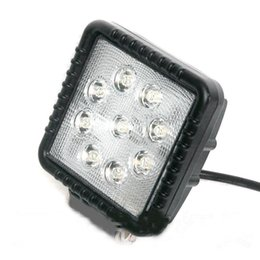 Wholesale Best selling goods quot w Square Hight brightness waterproof motorcycles atv utv trucks tractors led work light