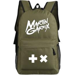 Wholesale Martin Garrix backpack Super star school bag Popular DJ daypack Music schoolbag Outdoor rucksack Sport day pack