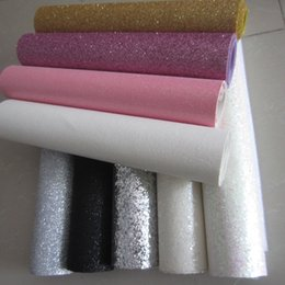 Wholesale cm x138cm Silvery Glitter Border Crafts white Glitter wall paper for cushions canvases pelmets blinds pillow decoration