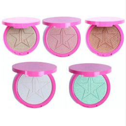 Wholesale New Make Up Star Skin Frost Highlighter Bronzer Pigment Highlighting Makeup ILLUMINATOR Powder Palette