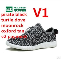 Wholesale lucus V1 best quality pirate black turtle dove moonrock oxford tan V2 SPLY SHOES US SIZE