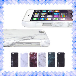 Wholesale New Granite Marble Pattern Soft TPU Phone Case Shockproof Cover for iPhone s s quot PLUS quot