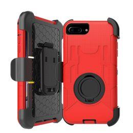 Etui de luxe pour Samsung Galaxy S4 S5 S7 S6 Edge pour iphone 5 5S SE 6 6S 7 Plus Cas de sacs de téléphone portable Back Cover avec fonction Stand à partir de fonction de retour fabricateur