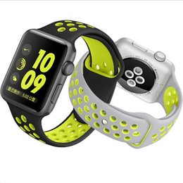 2016 apple iphone montres intelligentes Colorful Silicone Bande Clip Adaptateur Adaptateur Pour iPhone iWatch Apple Watch Silicone Bracelet Sport Boucle Bracelet montre intelligente GSZ216 budget apple iphone montres intelligentes
