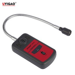 Wholesale Gas Leakage Detector UYIGAO Brand New Handheld Portable Automotive Mini Halogen Chlorine Fluorine Tester with Sound light Alarm