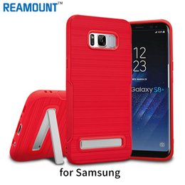 Wholesale For Samsung s8 s8 plus TPU Kickstand Case for Samsung A720F A520F protective TPU Phone Case Cover