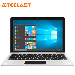 2017 otg tablet pc Vente en gros - Teclast Tbook 12 Pro Intel Cherry Trail X5 Z8300 Quad Core Windows 10 + Android 5.1 4 Go de RAM + 64 Go ROM 12,2