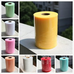 Wholesale 6inch yard Hot Sale Tulle Roll Spool Fabric DIY Wedding Dress Curtain Tulle lace for Party Wedding Decoration