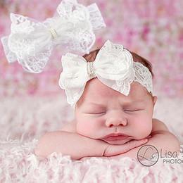 2017 accessoires de cheveux pour les bébés filles Princesse cheveux accessoires Lace grosse tête d'arc avec des ornements européens et américains de cheveux de bébé pour les filles 1060 accessoires de cheveux pour les bébés filles ventes