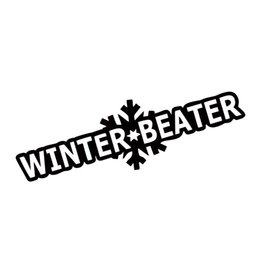 New Style For Winter Beater Sticker Funny Car Styling Jdm Vinyl Decal Drift Snow Car Window Decorative Art