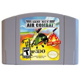 Wholesale new brand hot whole selling classic games for N N games USA CANADA NTSC VERSIION Army Men Air Combat