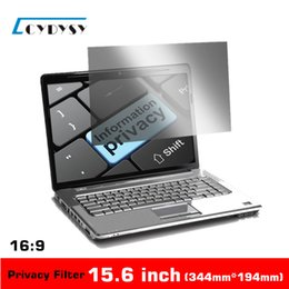 Wholesale 3M Quality inch No glue PET material Laptop Privacy Screens Anti Privacy Filter for Laptop Computer Monitor mm mm
