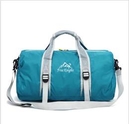 Male money HL outdoor folding bag handbag large capacity one shoulder fitness sports bag female bag