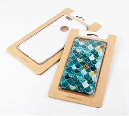 1000pcs NEW style kraft Paper Packaging Box Retail For ultra-thin Mobile Phone case for iphone7 7plus Packaging BOX