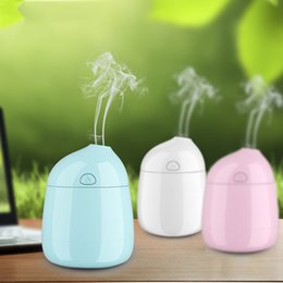 Wholesale 2016 New Air Aroma Humidifier With inner Chargable bettery one botton automatic Electric Aroma Diffuser colors