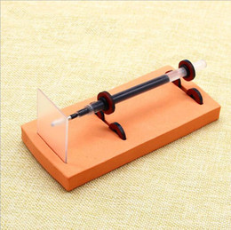 Wholesale physics science experiment Homemade Magnetic Levitation pen Child gift Primary students Science Technology diy materials