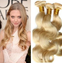 Good Quality 8A Grade 3 Bundles Hair Blonde Brazilian Virgin Human Hair Body Wave hair Extensions
