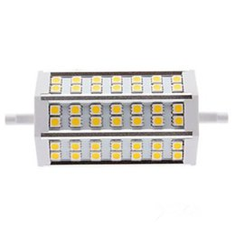 10pcs New Arrival R7S 9W 42 LEDs Light 118mm SMD 5050 Warm   Cold White Led Light Floodlight Dimmable Non-Dimmable LED Corn Light 110-240V